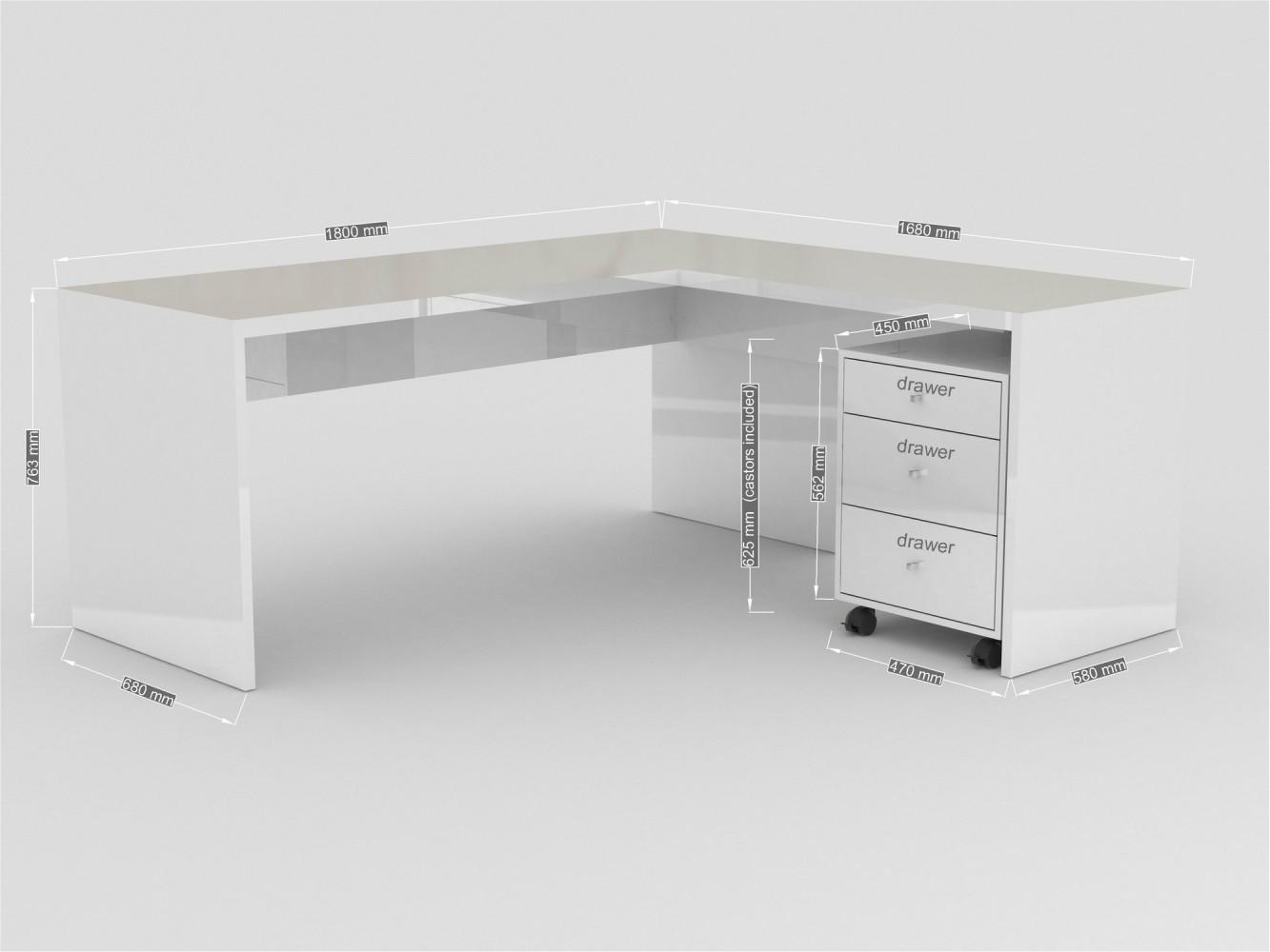 tecnos selina eckschreibtisch. Black Bedroom Furniture Sets. Home Design Ideas