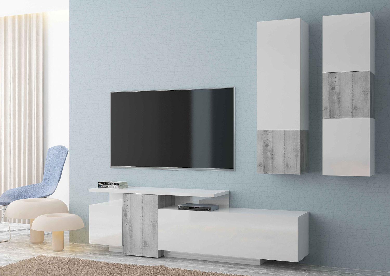 tecnos-wohnwand-ugo-3-tlg-weiss-hochglanz-ulme/einrichten-wohnen/wohnzimmer/wohnwaende