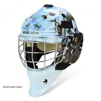 BAUER Goalie Maske NME 3 Star Wars Senior – Bild 3
