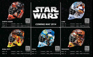 BAUER Goalie Maske NME 3 Star Wars Junior – Bild 6