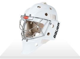 BAUER Pro Goal Mask 961/960 - Non. Cert. Cat Eye Senior – Bild 2
