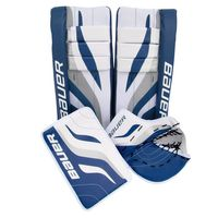 "BAUER Performance Streethockey Goalie Set 27"" 3-tlg. incl. Schienen, Fang- & Stockhand – Bild 1"