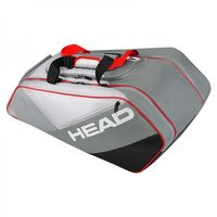 Head Elite All Court grau/schwarz/rot
