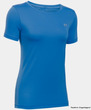 Under Armour HeatGear T-Shirt Damen blau 1285637-404
