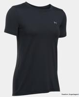 Under Armour HeatGear T-Shirt Damen schwarz 1285637-001