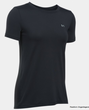 Under Armour HeatGear T-Shirt Damen schwarz 1285637-001