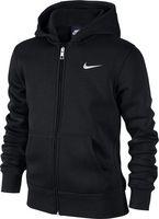 Nike Jungen Hoodie YA76 Brushed Fleece Full Zip 619069-010