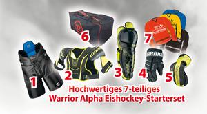 Warrior ALPHA Eishockey Starterset Senior zum Monsterpreis – Bild 1