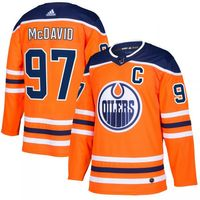 Connor McDavid #97 Edmonton Oilers Authentic Pro NHL Trikot Home – Bild 1
