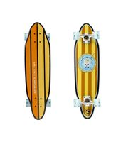 "Kryptonics 30"" Cutaway Cruiser Skateboard, Anchors – Bild 1"