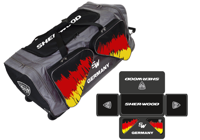 Sherwood Project 9 Wheelbag Team Nationen M Eishockey Taschen