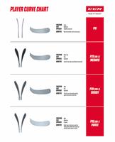 CCM Ribcor 65K Grip Stick Junior 40 Flex – Bild 4