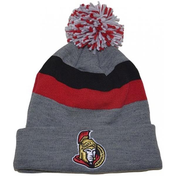 67279abf2cd CCM NHL Fleece Cuffed Pom Knit Beanie