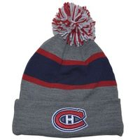 CCM NHL Fleece Cuffed Pom Knit Beanie – Bild 2