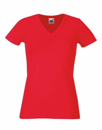 F281N Lady-Fit V-Neck T