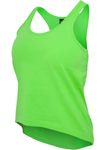 URBAN CLASSICS TB628 Ladies Neon Wide Tank Top teilweise Bauchfrei