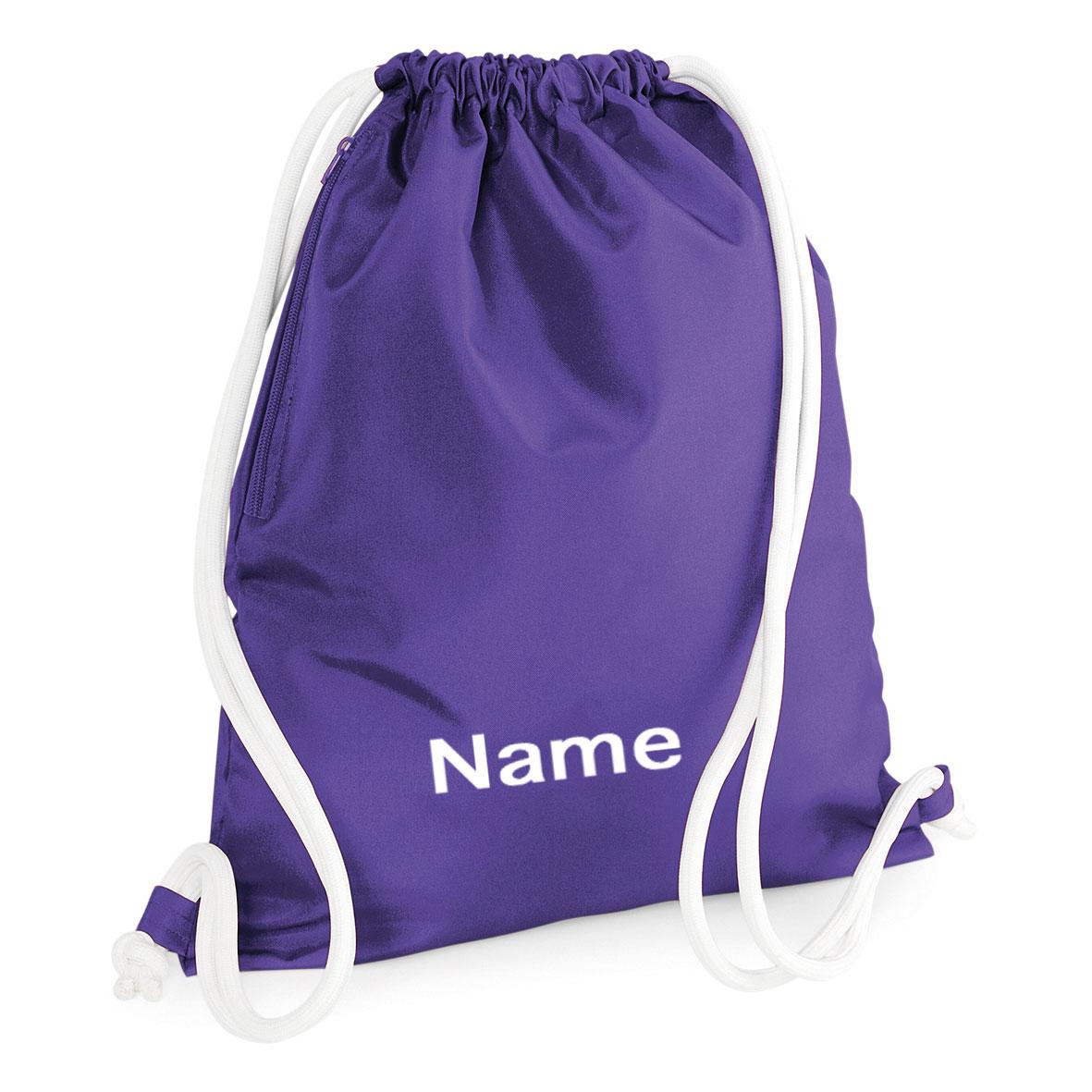 6ee33ec683933 Sofasurfer® Sportbeutel Turnbeutel mit Namen bedruckt Rucksack 40x48  personalisiert