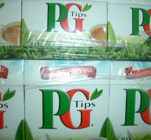 SCHWARZER TEE = PG  TIPS  80  PYRAMID TEA BAGS