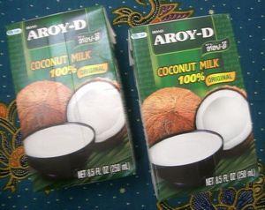 Kokosmilch 250 ml Kokosnussmilch  AROY-D  Thai Coconut Milk