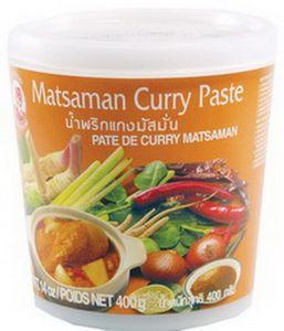 Matsaman Currypaste 400 g COCK Thai Würzpaste für Masaman Curry scharf