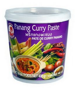 Panang Currypaste 400 g COCK Thai Würzpaste für Penang Curry scharf