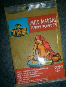 Currypulver MILD MADRAS = Curry Powder  100 g TRS