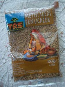 BOCKSHORNKLEE  100 g  METHI SEEDS  TRS  INDIEN