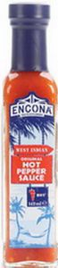 ENCONA HOT  PEPPER  SAUCE  142 ml