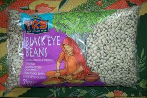 SCHWARZAUGIGE  BOHNEN  = 2000 g = Schwarze Augen Bohnen TRS