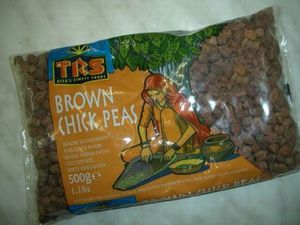 KICHERERBSEN BRAUN  500 g  TRS  BROWN CHICK PEAS