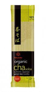 Hakubaku Organic CHA SOBA - Nudeln mit GRÜNTEE 200g