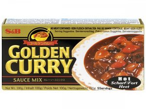 GOLDEN  CURRY  HOT  100 g  S&B  JAPAN