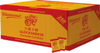 250 Glückskekse knackig frisch, einzeln verpackt in Goldfolie = 1 Karton