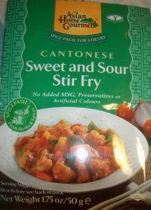AHG 50 g  Würzpaste für Süss-Saures Pfannengericht