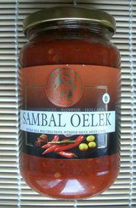 Sambal Oelek 375 g  KONINGSVOGEL 94% Chili