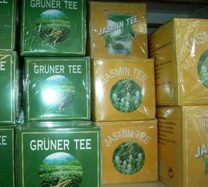 GRÜNER TEE AUS ANHUI  1000 g  GREETING PINE CHINA
