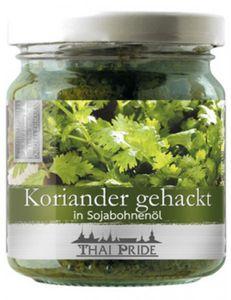 Korianderpaste - Koriander gehackt 180 g Thai Pride
