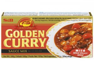GOLDEN  CURRY  MILD  100 g  S&B  JAPAN