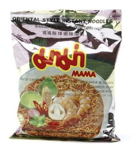 30 x 60 g  Instant Thai Suppe Shrimp Tom Yum MAMA Garnelen 1 Karton