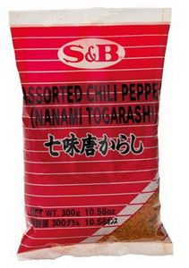 Chili Gewürzmischung  300 g  Nanami Togarashi von S&B Japan
