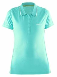 CRAFT Damen Polo Funktions-Shirt In the Zone Polo Women in Mint – Bild 1
