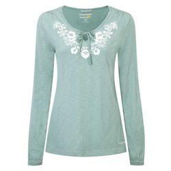 Craghoppers Zanta Damen Langarm Shirt in jade mit UV Schutz