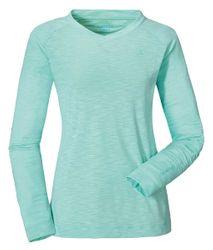 Schöffel Longsleeve La Molina Damen Shirt Funktions-Shirt in Stretch und grün