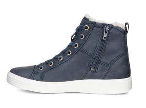 ECCO Kinder Schuhe Sneaker S7 Teen Gore-Tex gefüttert blau  – Bild 1