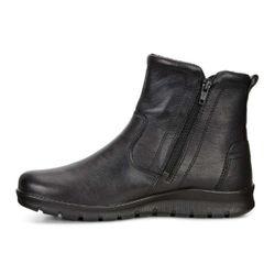 ECCO Babett Damen Stiefelette Leder schwarz Gore-Tex – Bild 1