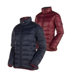 Mammut Whitehorn IN Jacket Women Damen Wende Daunen-Jacke in marine merlot