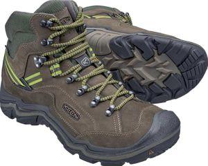 Keen Herren Wander-Schuhe Galleo Mid WP Leder Hiking Schuhe olive wasserdicht – Bild 2