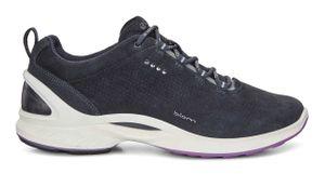 Ecco Leder Halbschuhe Damen Sneaker Biom FJUEL blau – Bild 2