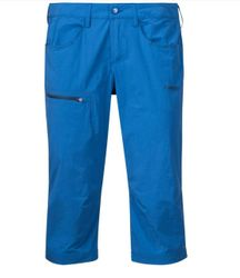 Bergans Moa Lady Pirate Pants Damen 3/4 Softshellhose in blau