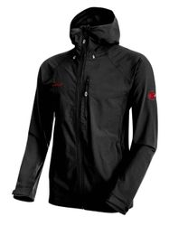 Mammut Runbold Trail SO Hooded Men Herren Softshell Jacke schwarz